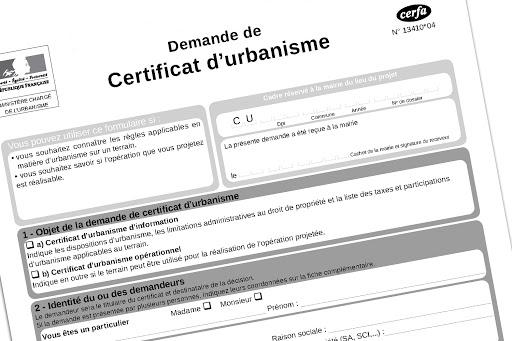 Certificats d'urbanisme